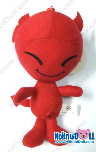 พวงกุญแจ ตุ๊กตาเดวิล 5นิ้ว
