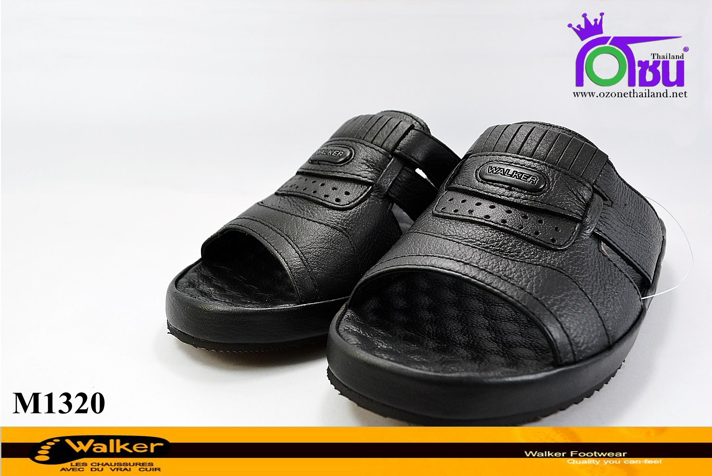 รองเท้า Walker วอร์เกอร์ ชายรุ่น M1320 สีดำเบอร์40-45