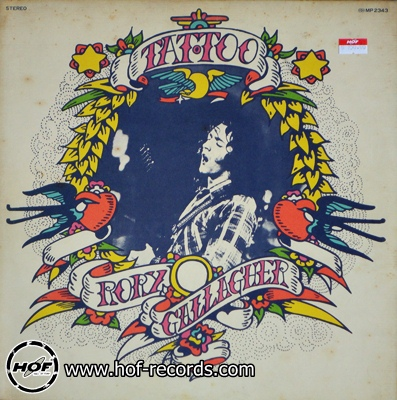 rory gallagher - tattoo 1lp