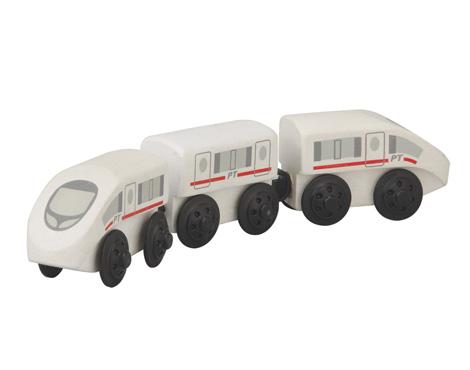 ของเล่นไม้ ของเล่นเด็ก ของเล่นเสริมพัฒนาการ Express Train รถไฟด่วนพิเศษ (ส่งฟรี)
