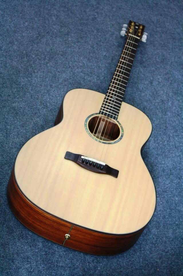 กีต้าร์โปร่ง Guitar Sen รุ่น F-6SS Custom All Soid