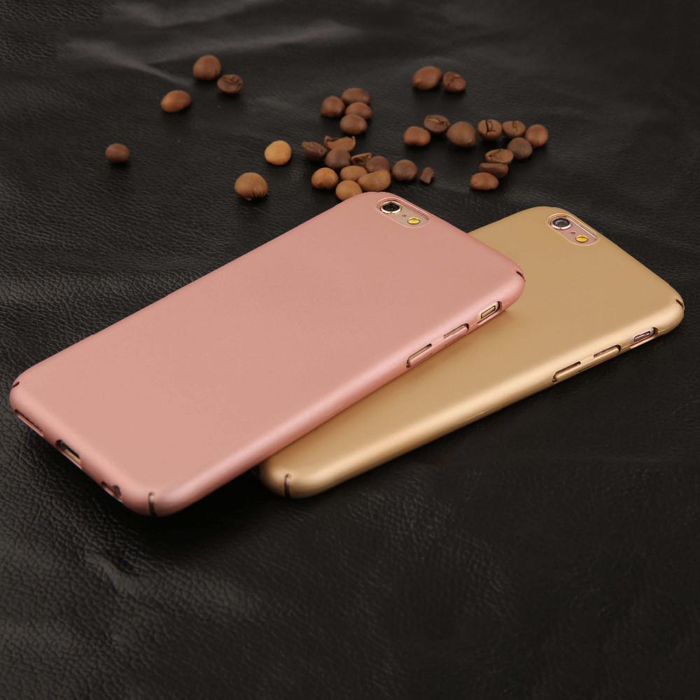 เคส Pc สี Metallic เนื้อด้าน ไอโฟน 6plus/6s plus 5.5 นิ้ว