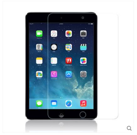 สำหรับ iPad mini 4 ฟิล์มกระจกนิรภัยป้องกันหน้าจอ 9H Tempered Glass 2.5D (ขอบโค้งมน) HD Anti-fingerprint