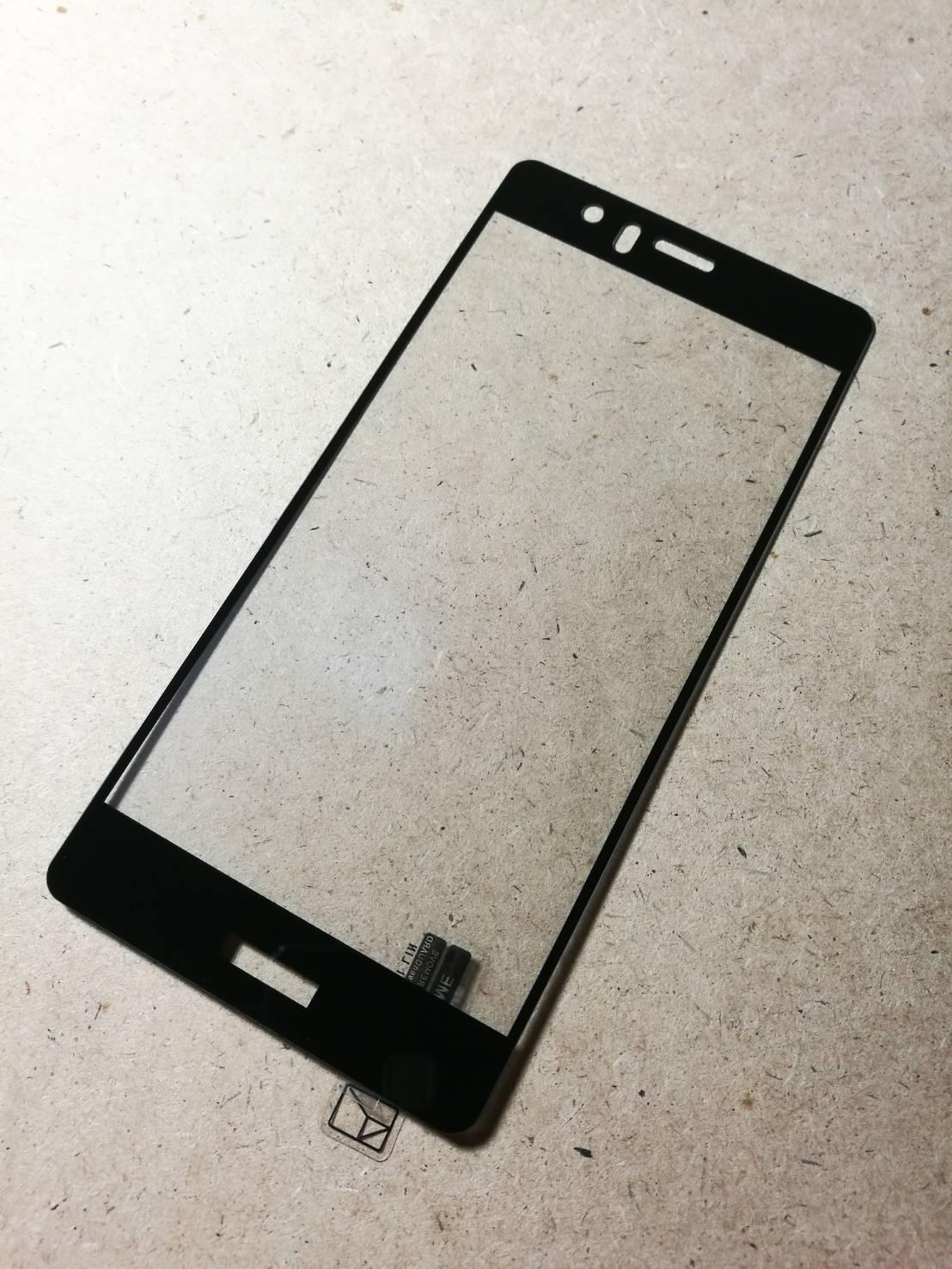 ฟิล์มกระจกเต็มจอ Huawei P9 ขอบดำ