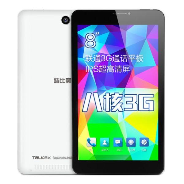 """แท็บเล็ต Cube Talk 8X 8.0"""" IPS Octa-Core Android 4.4 8GB ROM"""