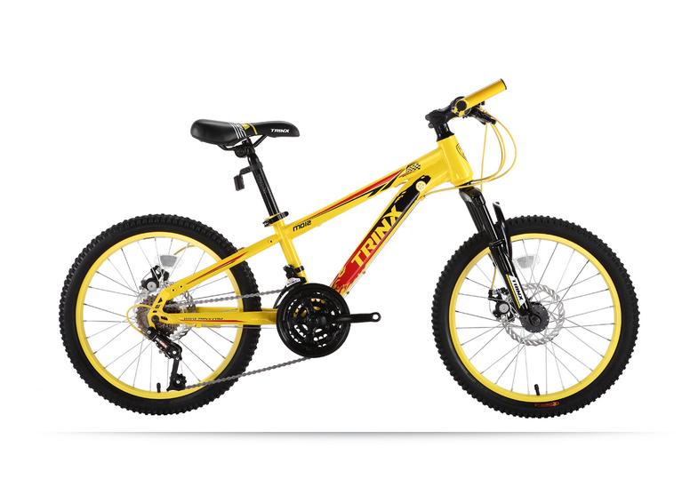 จักรยานเสือภูเขาเด็ก TRINX ,M012D 18สปีด เฟรมอเหล็ก ดิสหน้า+หลัง 2015