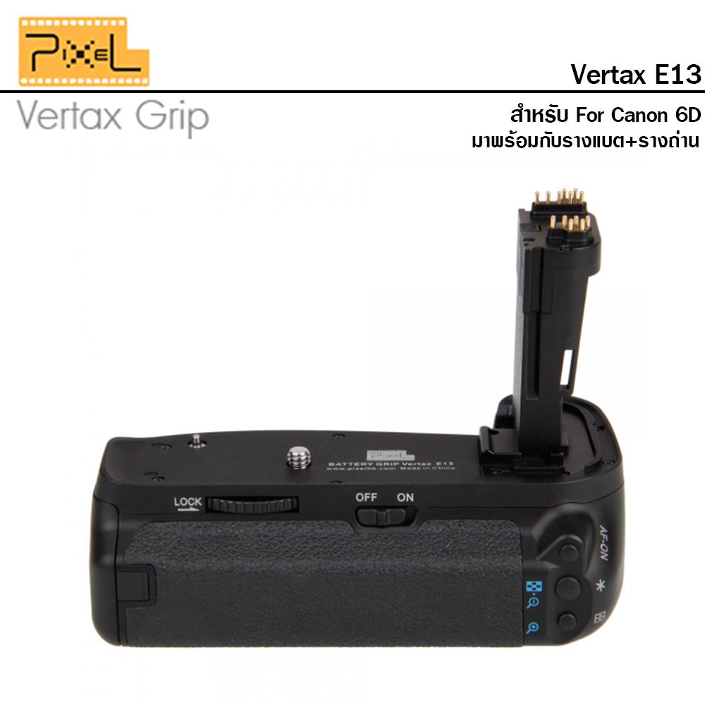 แบตเตอร์รี่กริป Pixel Vertax E13 for Canon 6D