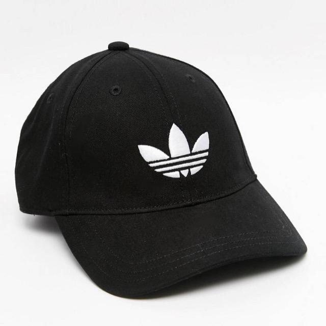 adidas Originals Trefoil Cap In Black