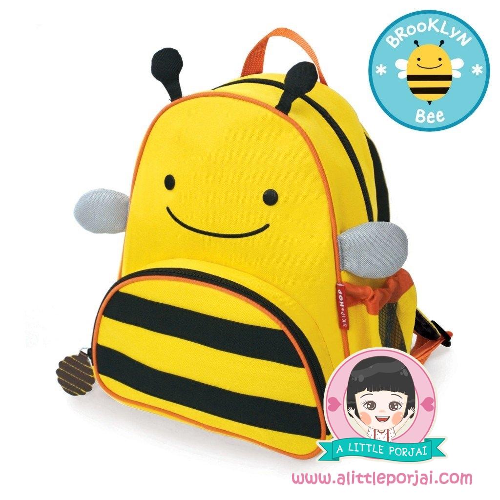 กระเป๋าเป้ ลายผึ้ง