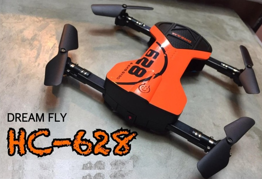 DREAM FLY HC-628 โดรนติดกล้อง โดรนเซลฟี่