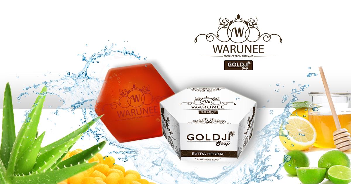 สบู่สมุนไพร Warunee GoldJi