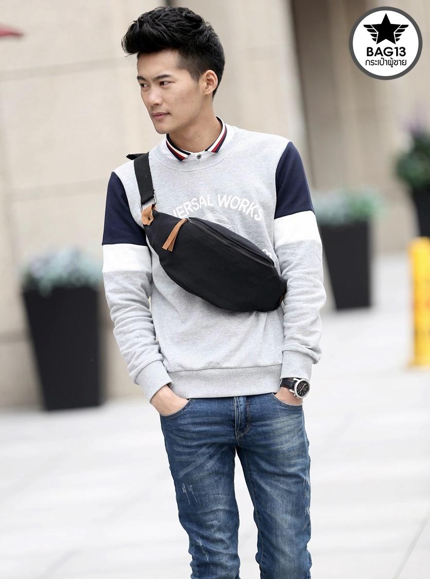 กระเป๋าคาดอกผู้ชาย รหัส B012