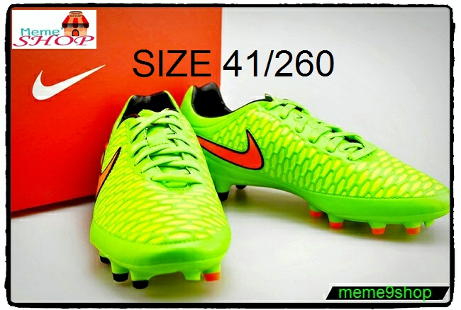 รองเท้าสตั๊ด Nike-Magista-Orden-Green-Cimson-Black fg