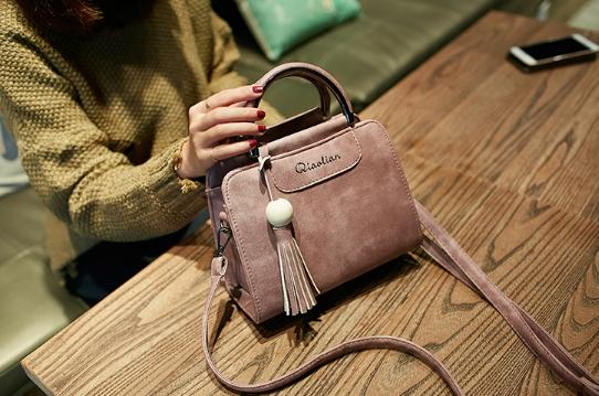 กระเป๋าถือ Lotte bag (Nude pink)