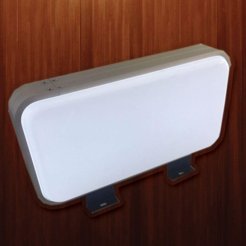 ตู้ไฟปั๊มนูนสี่เหลี่ยม ขนาด 30 x 57 cm (ราคารวม สติ๊กเกอร์)