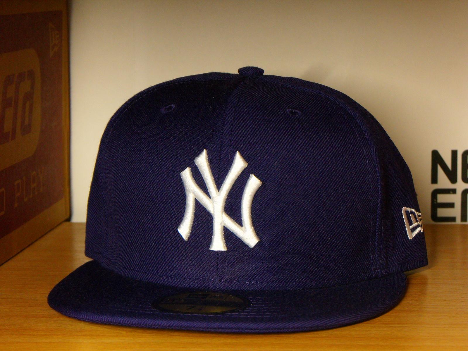 หมวก New Era New York Yankees (ม่วง)