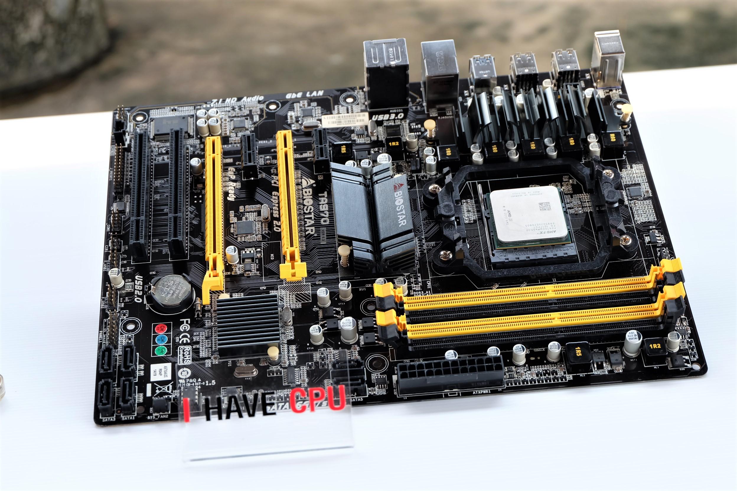 AMD FX-4100/FX-4300/FX-6100 / FX-6300 / FX-8300 + BIOSTAR TA970