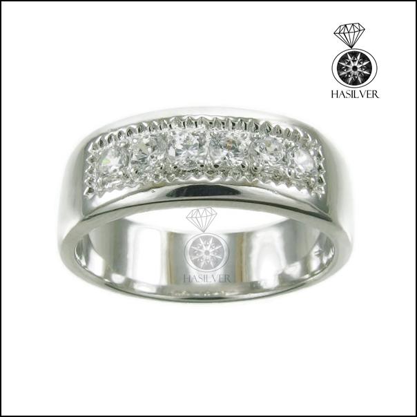 แหวนเงินแท้ แหวนเพชรรัสเซีย แหวนเพชรสวิสชาย