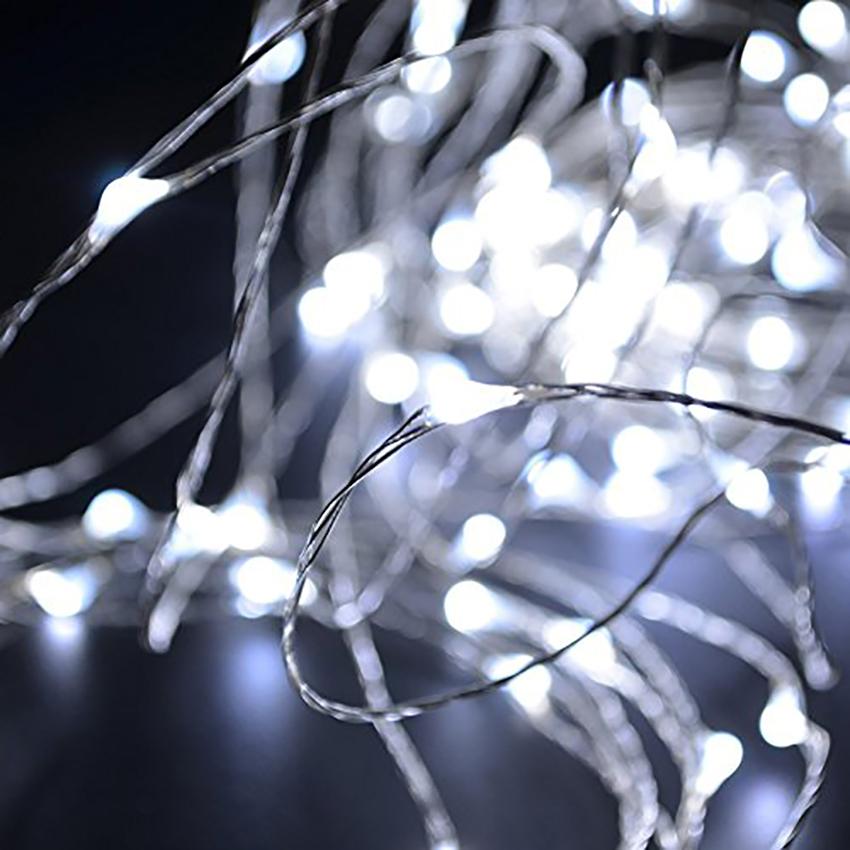 ไฟแฟรี่ ไฟลวด LED ตกแต่ง หักงอได้ ยาว 5 เมตร สีขาว