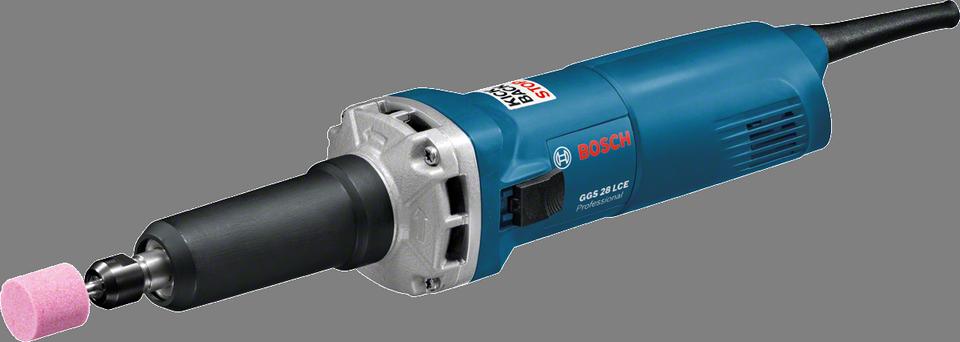 BOSCH GGS28LCE Professional Long Straight Grinder - เครื่องเจียร์คอยาวกันสะบัด (650 วัตต์) - 0601221100