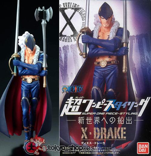X-Drake ของแท้ JP แมวทอง - Super Styling Bandai [โมเดลวันพีช]