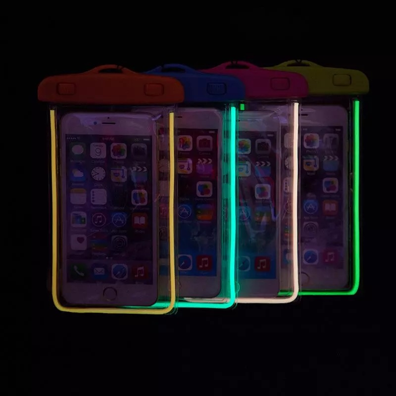 ซองกันน้ำเรืองแสง สำหรับมือถือ/สมาร์ทโฟน