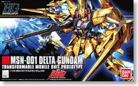 Gundam Bandai HGUC MSN 001 Delta Gundam