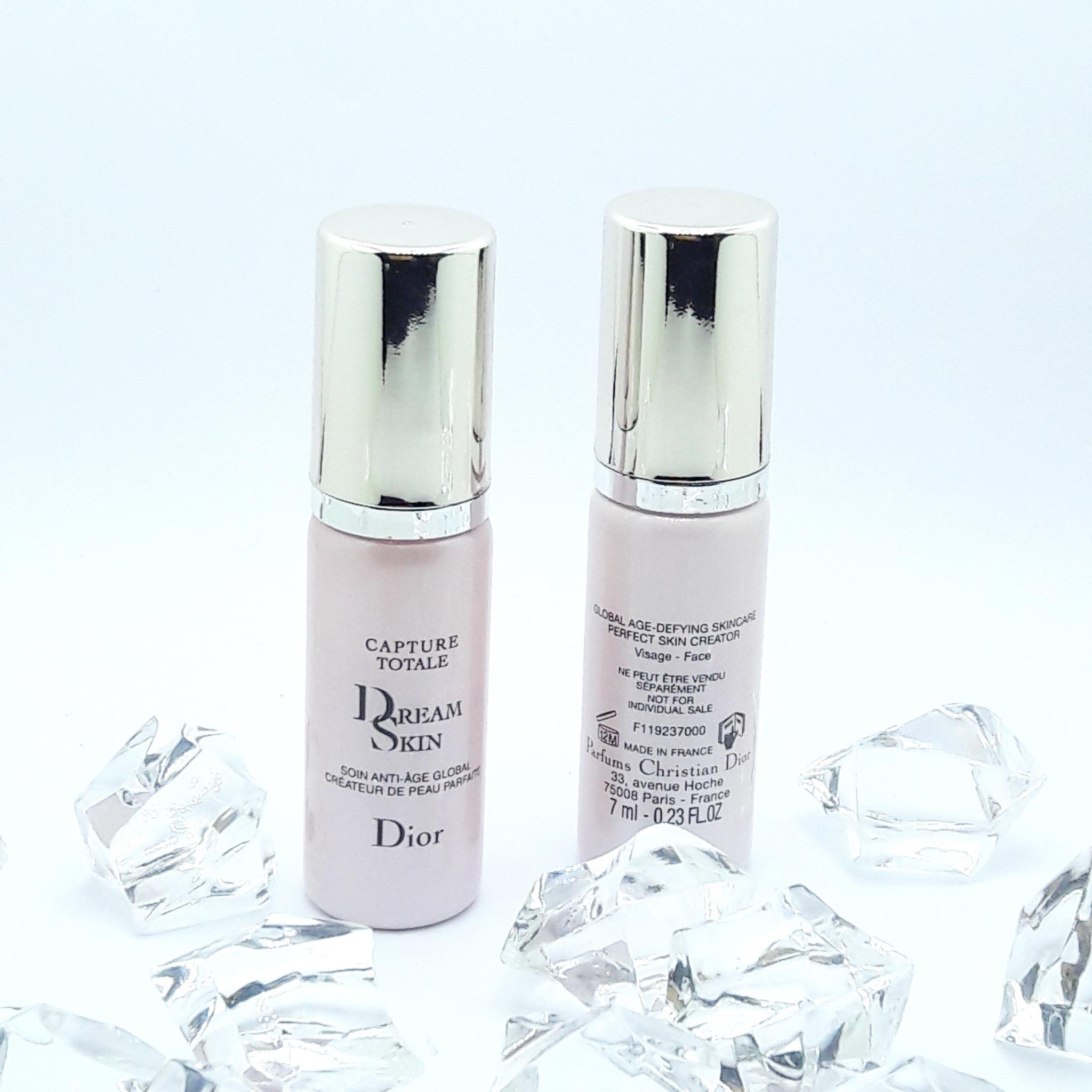 DIOR CAPTURE TOTALE Dream Skin 7ml. ผิวในฝันสร้างได้ไม่อยาก กับ Dior Capture Totale Dream Skin เซรั่มทีใช้เป็นขั้นตอนสุดท้ายของการบำรุงผิวก่อนการแต่งหน้า หรือ Post-Serum