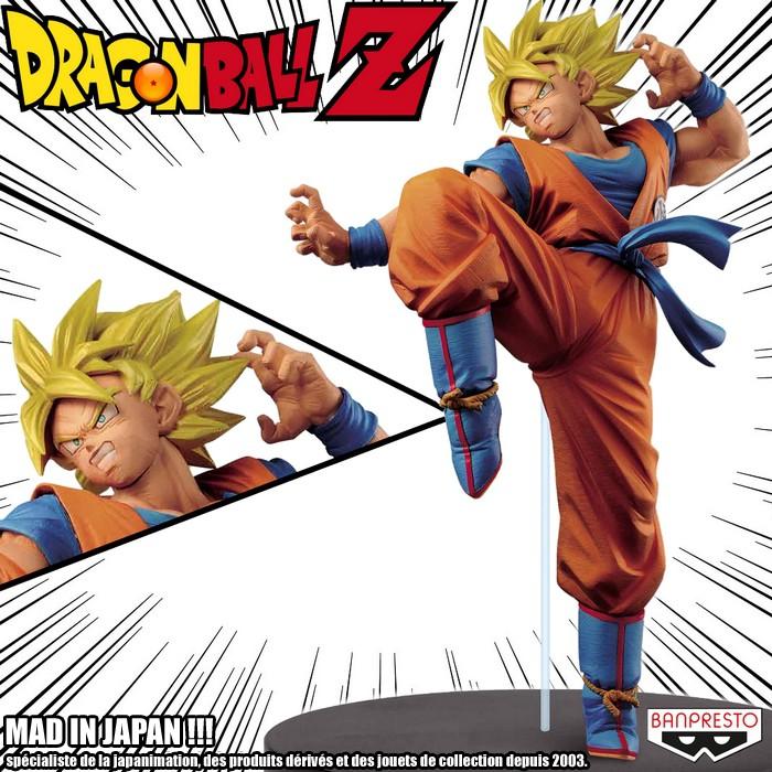 Goku Super Saiyan ของแท้ JP แมวทอง - FES !! Banpresto [โมเดลดราก้อนบอล]