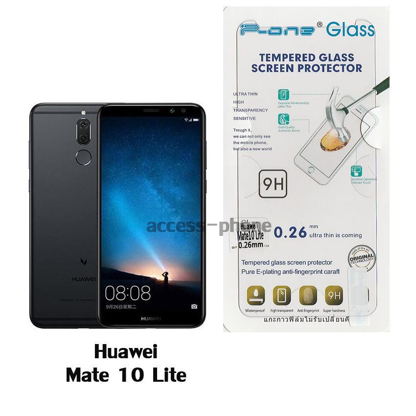 P-one ฟิล์มกระจก Huawei Mate 10 Lite
