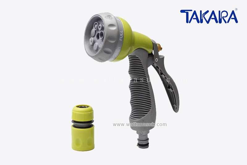 ปืนฉีดน้ำ 7 รูปแบบ (เหล็ก) TAKARA (DGT2007)