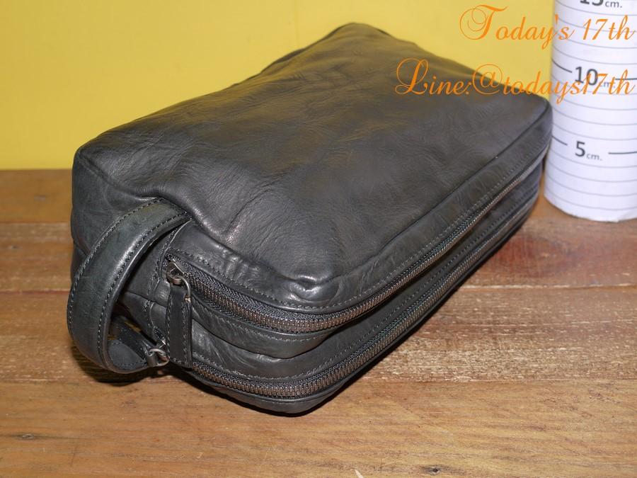 กระเป๋าหนังแท้ใส่อุปกรณ์/เครื่องสำอาง