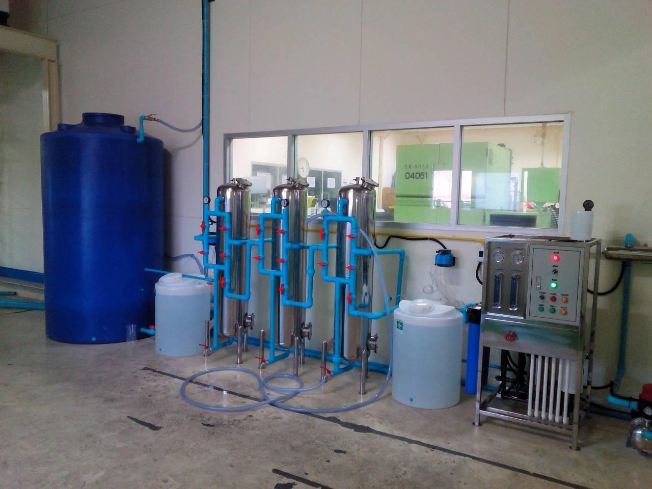 รับติดตั้งโรงงานน้ำดื่ม R.O 6,000 ลิตรต่อวัน พร้อมอุปกรณ์การติดตั้ง