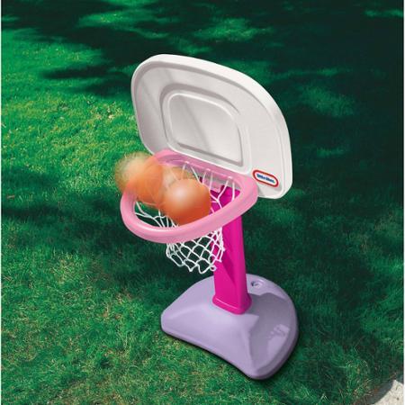 แป้นบาส สีชมพู Little Tikes TotSports Easy Score Basketball - Girls