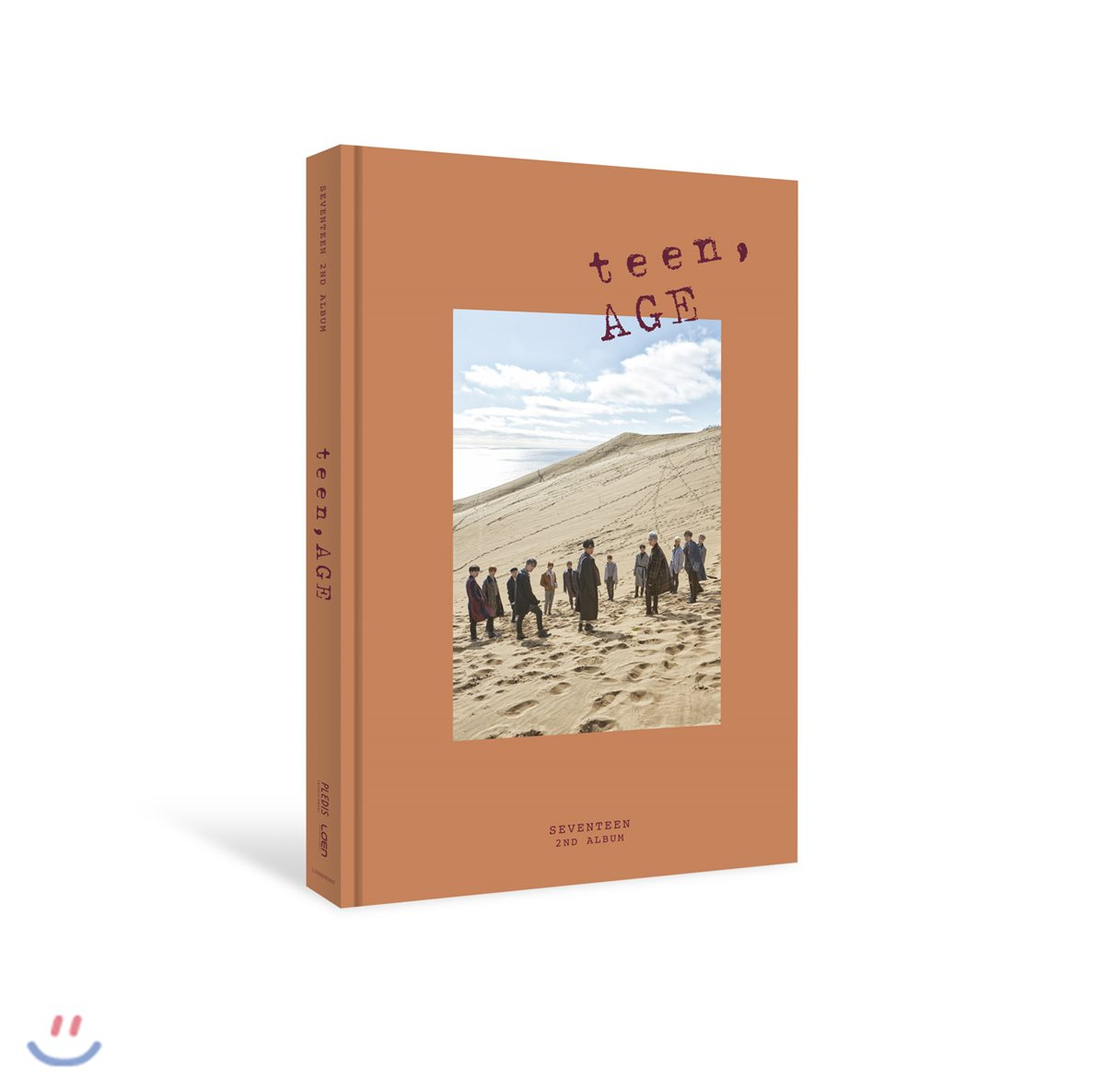Seventeen - Album Vol.2 [TEEN, AGE] หน้าปก ORANGE Ver.