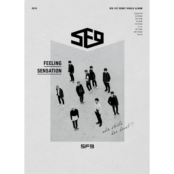 SF9 - 1st Debut Single Album [Feeling Sensation]