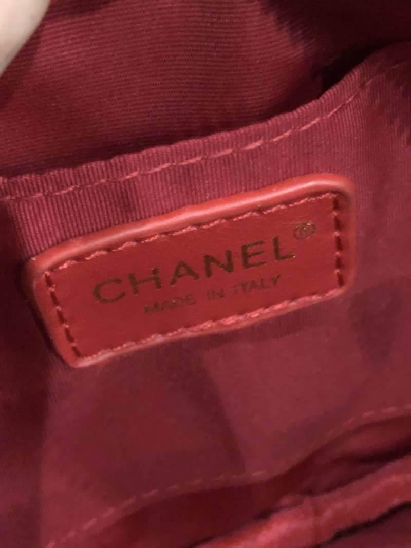 กระเป๋าแฟชั่น Chanel Belt Bag สีแดง