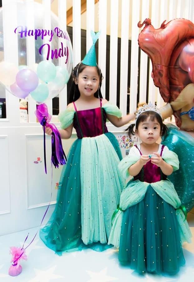 Arial Princess Dress (เดรสเจ้าหญิงแอเรียล)