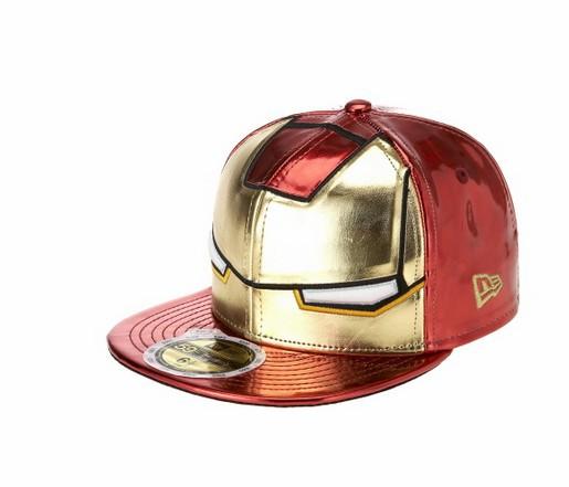หมวก IRON MAN ขนาดรอบศีรษะ 59 ซม. (ปรับลดขนาดได้) สำหรับคุณพ่อที่น่ารักใส่ ของจริงสีจะสดกว่าในรูปนี้