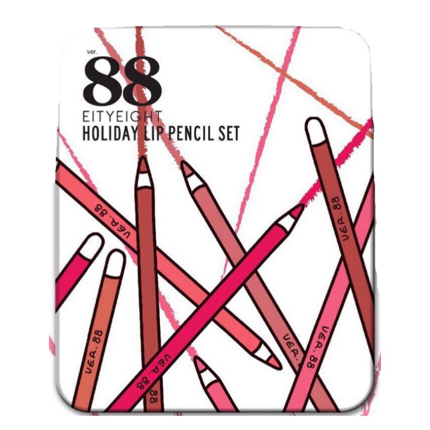 Ver.88 Holiday Lip Pencil Set ลิปดินสอ