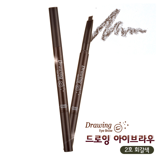 Etude House Drawing Eye Brow #2 Gray Brown สีน้ำตาลเทา