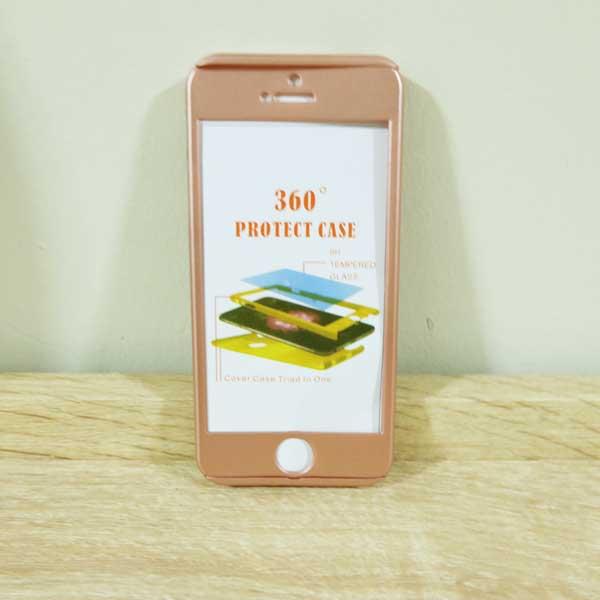 เคสไอโฟน 5/5S/SE ประกบ สีพิ้งโกล
