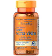 Puritan's Pride Lutigold™ Nutra-Vision with Lutein, Zeaxanthin & Omega-3 / 30 Softgels