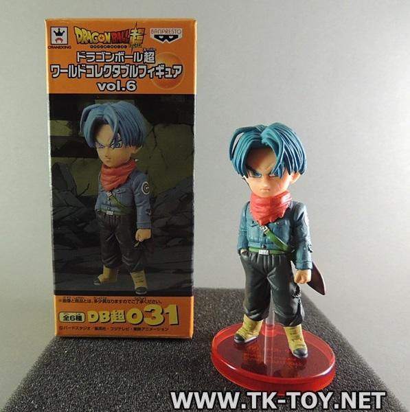 (โมเดลดรากอนบอล) Dragon Ball Z WCF Vol. 6 Future Trunks
