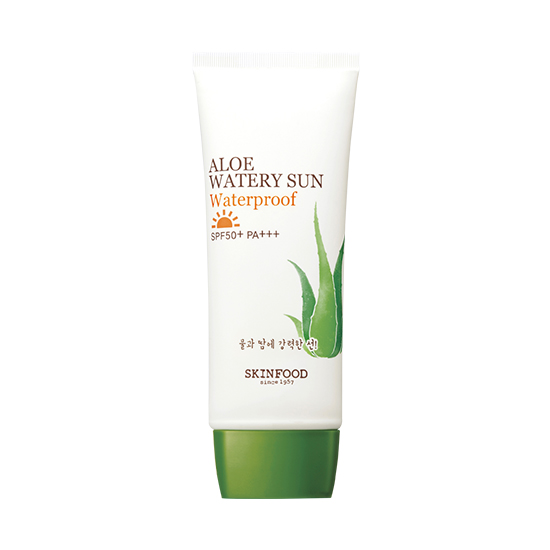 Skinfood Aloe Watery Sun Waterproof SPF50 + PA +++ 50 ml
