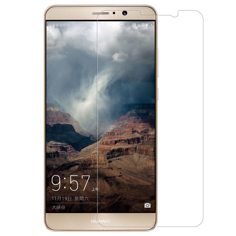 ฟิล์มกระจกนิรภัย 9H 2.5D เต็มจอ (Huawei Mate 9)
