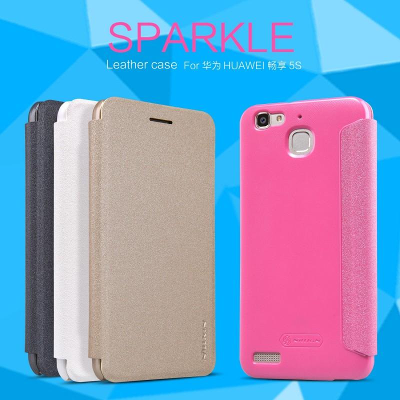 Nillkin Sparkle Leather Case (Huawei GR3)