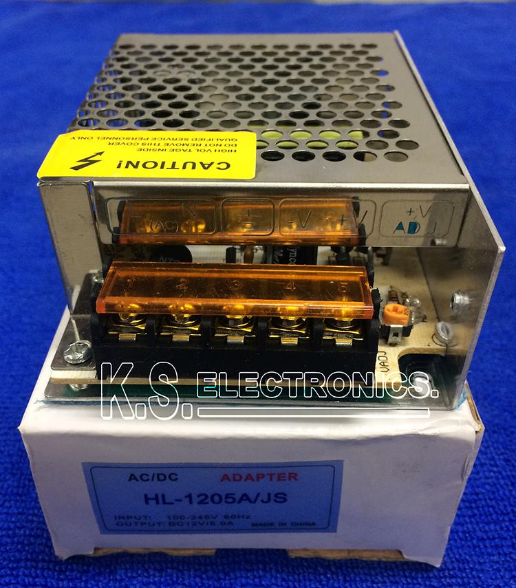 แหล่งจ่ายไฟสวิตชิ่ง Output 12V 5A