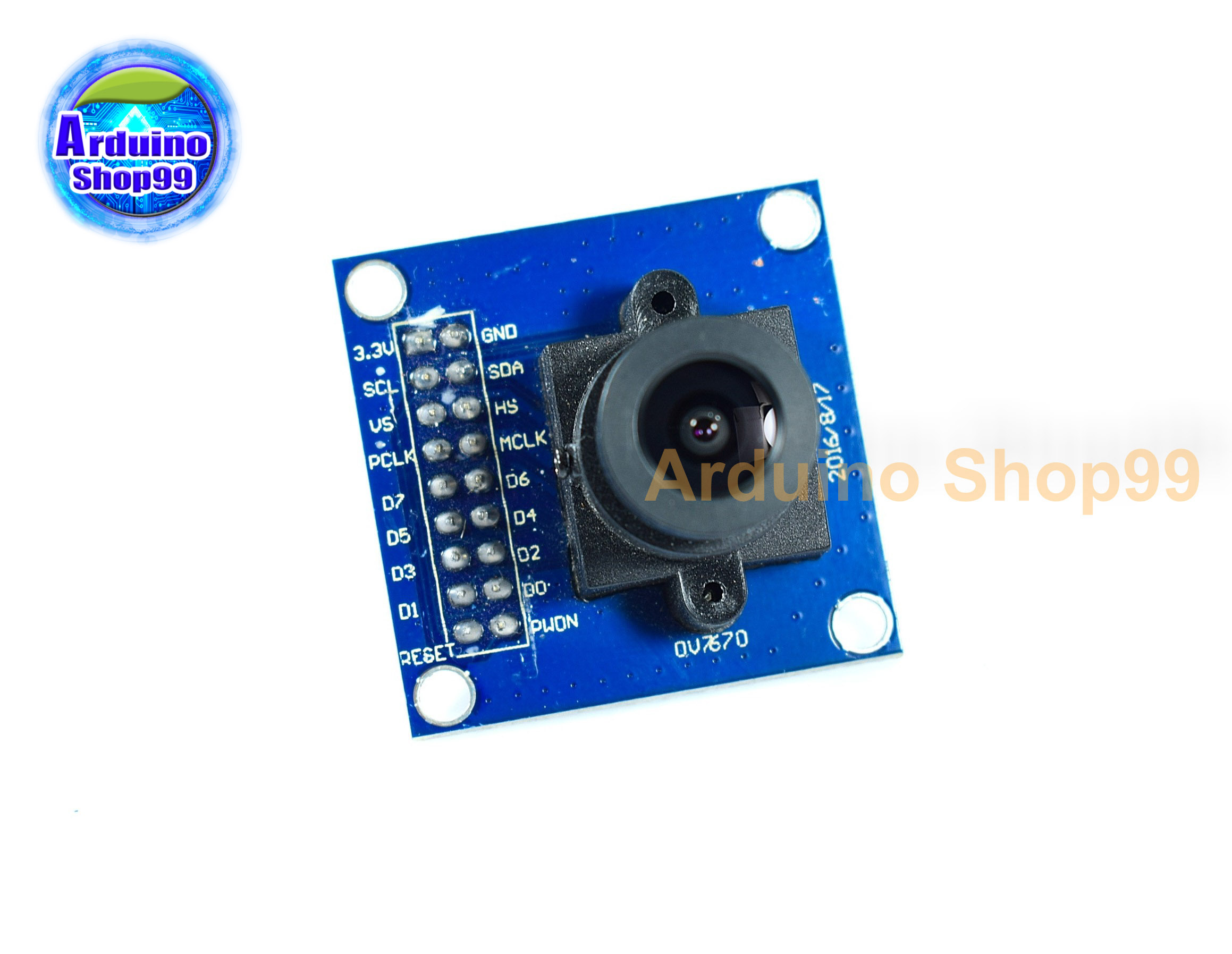 OV7670 camera module size 640X480 For Arduino