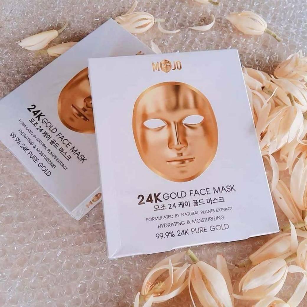 MOJO มาส์กหน้ากากทองคำ 1 แผ่น